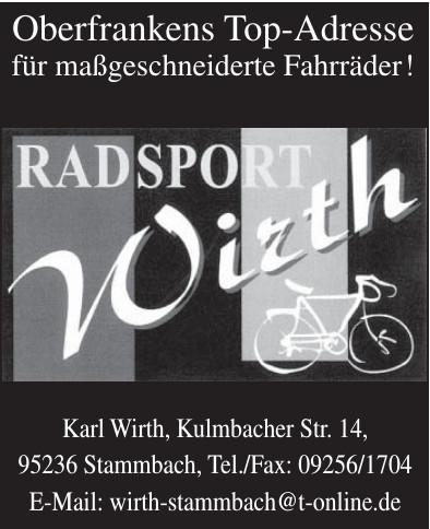 Radsport Wirth