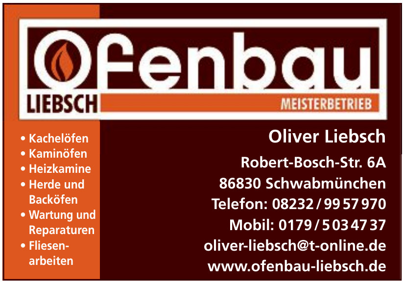 Oliver Liebsch Ofenbau