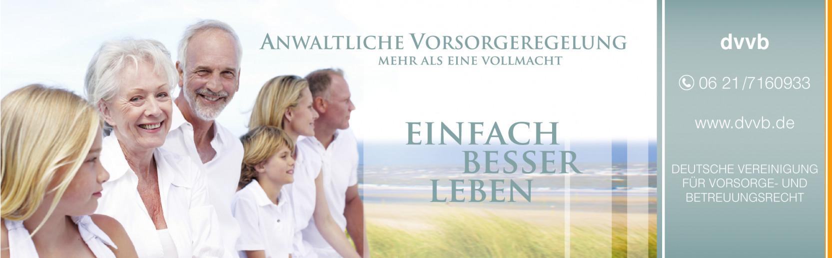 DVVB Deutsche Vereinigung für Vorsorge- und Betreuungsrecht