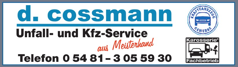 d. cossmann Unfall- und Kfz-Service