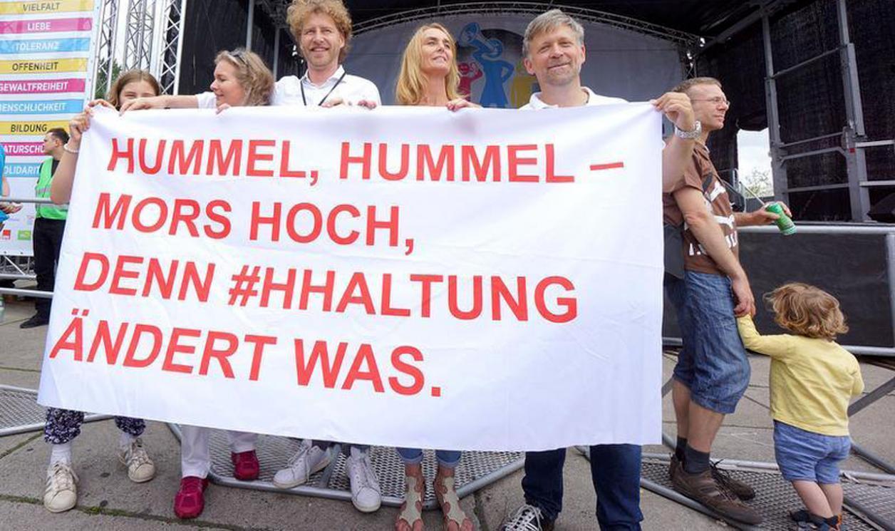 """""""Hamburg musste eine Menge aushalten"""" Image 1"""
