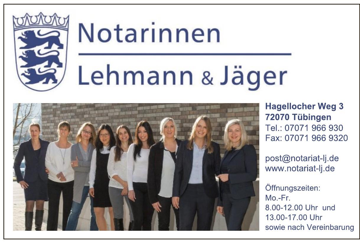 Notarinnen Lehmann & Jäger