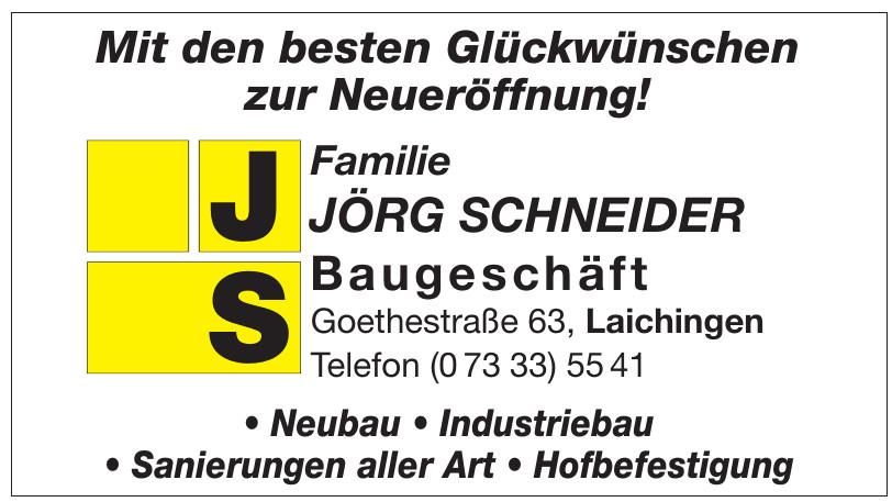 Familie Jörg Schneider Baugeschäft