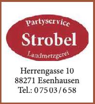 Partyservice Strobel Landmetzgerei