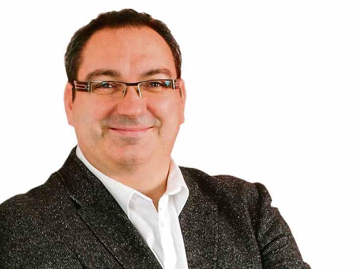 Stefan Korneck – Leiter Vertrieb und Marketing und Geschäftsführer.