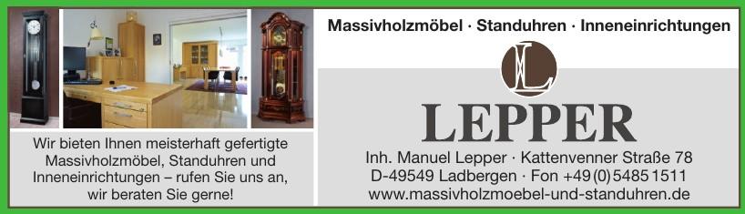 Inh. Manuel Lepper