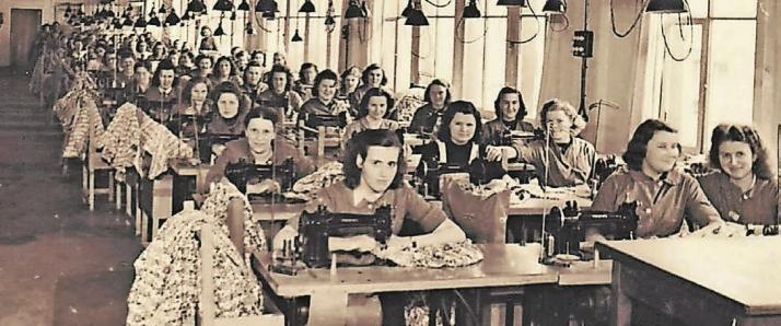 Von der Baumschen Fabrik aus gingen früher die Textilien in die ganze Welt. Foto: Familie von Baum