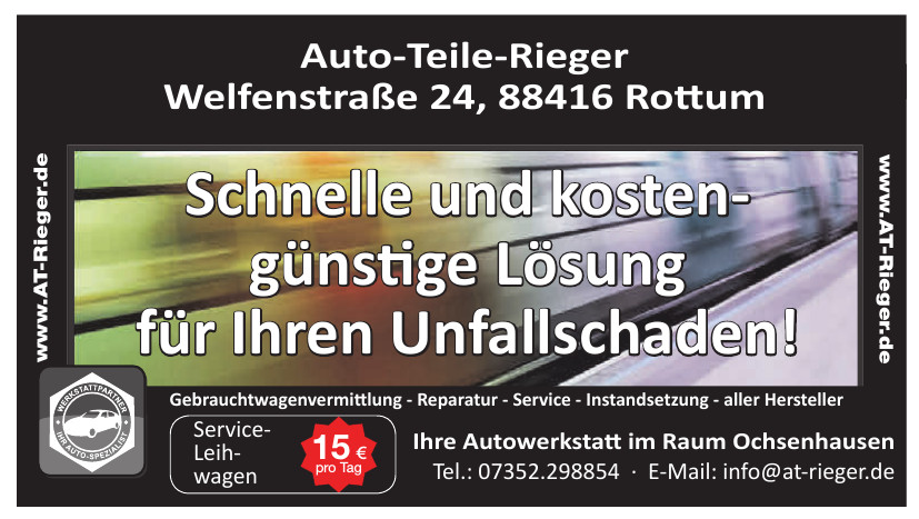 Auto-Teile-Rieger