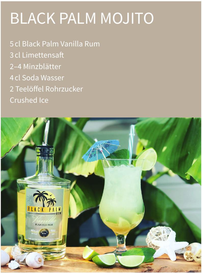 Black Palm Vanilla Rum