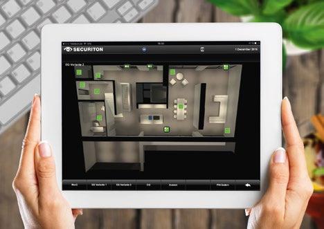 Mit einem umfassenden Visualisierungssystem werden alle Applikationen komfortabel auf einer einzigen, optisch ansprechenden und intuitiven Bedienoberfläche genutzt