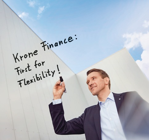 Markus Böhmann, Head of Sales Financing, supports Krone's customers with flexible financing solutions.