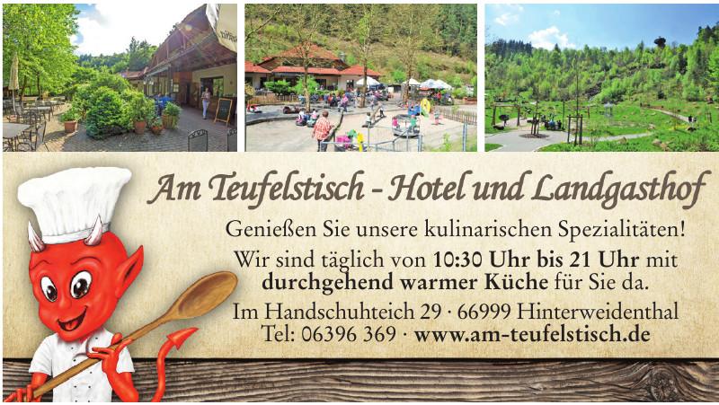 Am Teufelstisch - Hotel und Landgasthof
