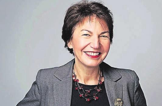 """Birgit Krüger leitet den Wuppertaler Arbeitskreis der """"Unternehmerfrauen im Handwerk""""."""