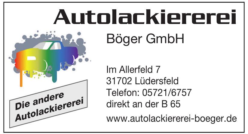 Autolackiererei Böger GmbH