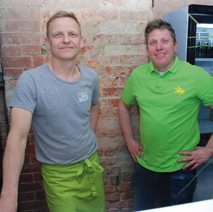 Die neuen Betreiber Lars Kummrow (li.) und Oliver Pardey.