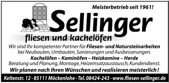 Sellinger Fliesen und Kachelöfen