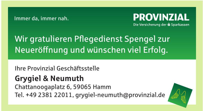 Priovinzial - Grygiel & Neumuth