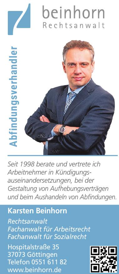 Karsten Beinhorn Rechtsanwalt