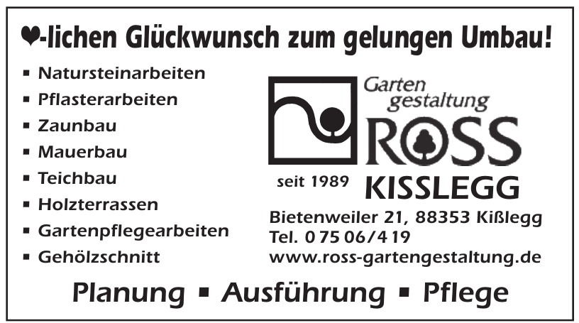 Ross Kisslegg
