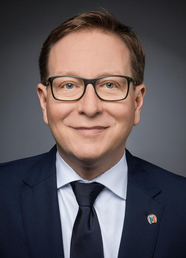 Holger Schmid, Präsident des Badischen Rennvereins.  BILD: BRV