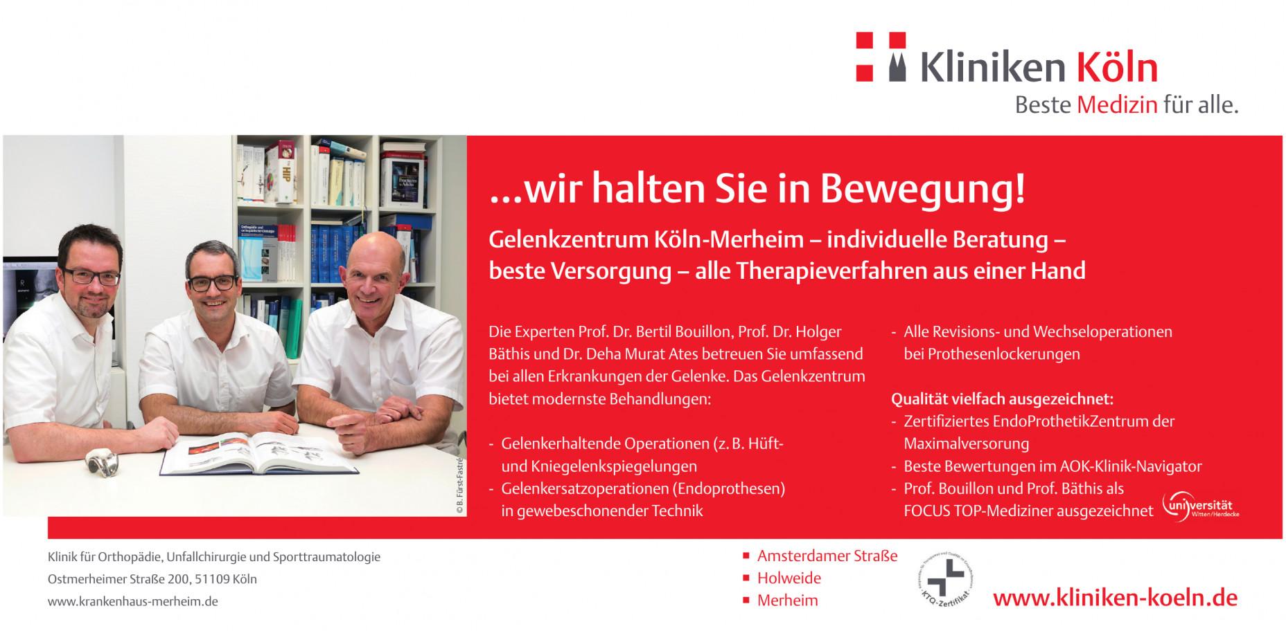 Lungenklinik Krankenhaus Merheim, Klinikumder UniversitätWitten/Herdecke