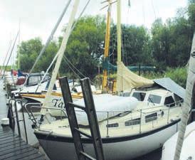 30 Liegeplätze bietet der Neuendeicher Hafen Foto: Klein