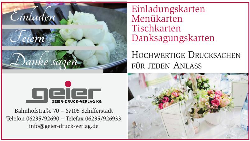 geier Geier-Druck-Verlag KG