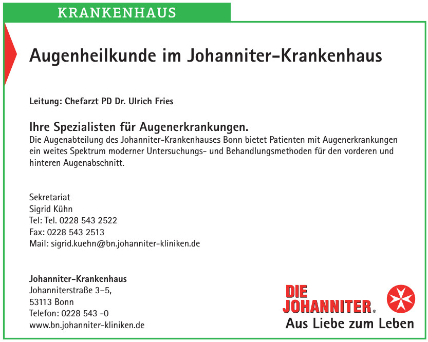 Johanniter Krankenhaus