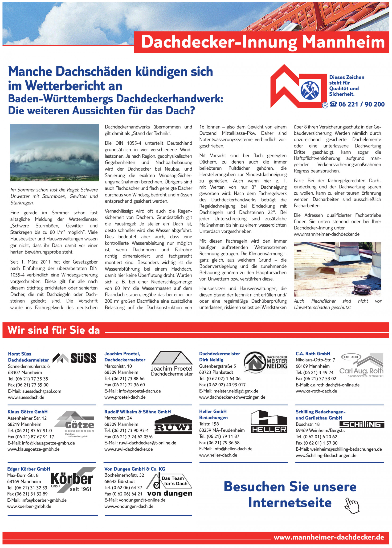 Dachdecker-Innung Mannheim