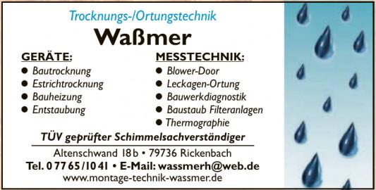 Trocknungs- und Ortungstechnik Waßmer