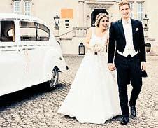 Klassisch: Marcel Halstenberg von RB Leipzig mit seiner frischgebackenen Ehefrau Franziska.