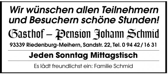 Gasthof – Pension Johann Schmid