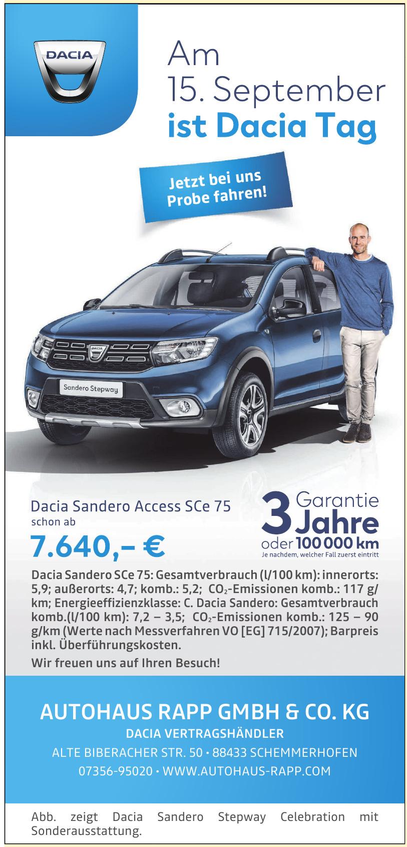 Autohaus Rapp GmbH & Co. KG