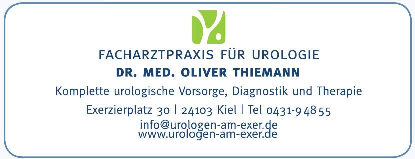 Facharztparxis für Urologie Dr. Med. Oliver Thiemann