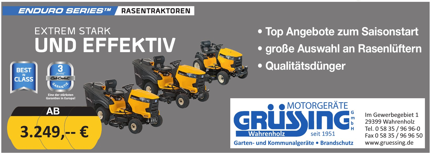 Grüssing Motorgeräte GmbH