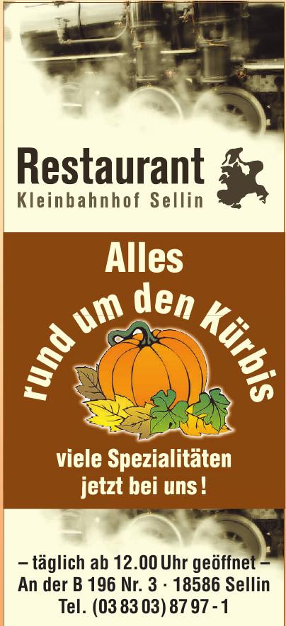 Restaurant Kleinbahnhof Sellin