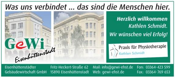 Eisenhüttenstädter Gebäudewirtschaft GmbH