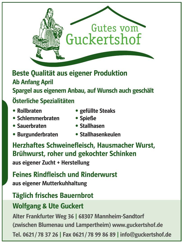 Guckertshof Wolfgang & Ute Guckert