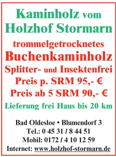 Holzhof Stormarn GmbH