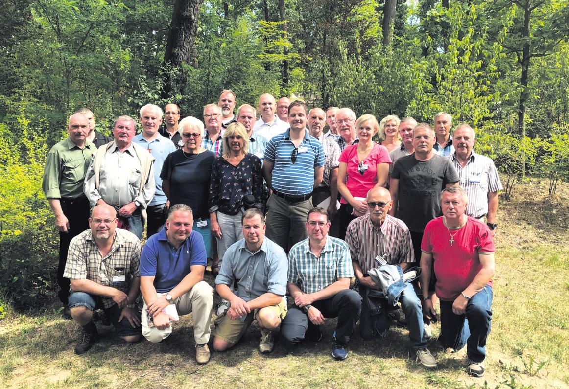 Reservisten der Kreisgruppe Celle besuchten die Bundeshauptstadt. Foto: privat