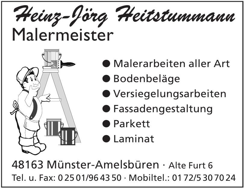 Heinz-Jörg Heitstummann Malermeister