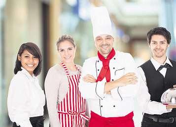 Freundlichkeit und gutes Aussehen zahlt sich im Hotel und in der Gastronomie immer ausFoto: Agentur für Arbeit