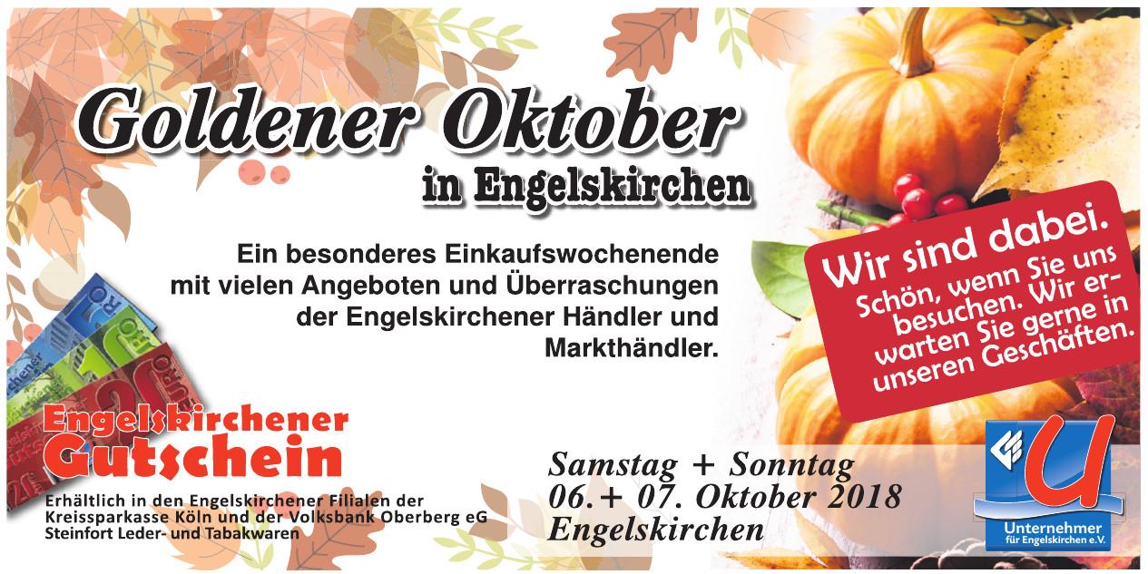 Goldenen Oktober Engelskirchen