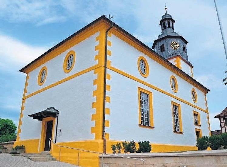 In der 310 Jahre alten St. Nikolaus-Kirche findet am Sonntag um 9 Uhr der Kirchweihgottesdienst statt. Foto: mr