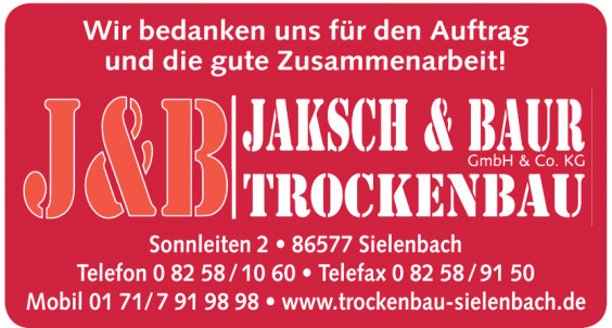 Jaksch & Baur GmbH & Co.KG Trockenbau