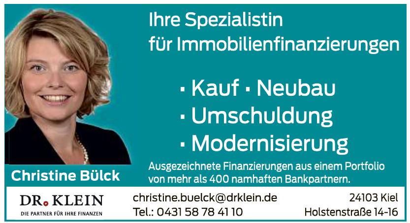 Dr. Klein Christine Bülck