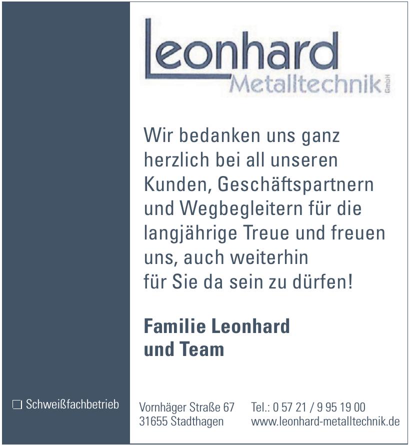 Leonhard Metalltechnik GmbH