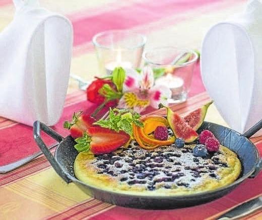 """Das Landhotel Geyer**** zählt zu den 42 besten bayerischen Restaurants innerhalb der höchsten Kategorie der """"Ausgezeichneten Bayerischen Küche"""". Foto: pm"""