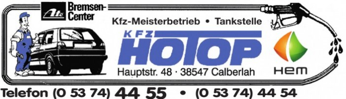 KFZ HOTOP - Meisterbetrieb, Tankstelle