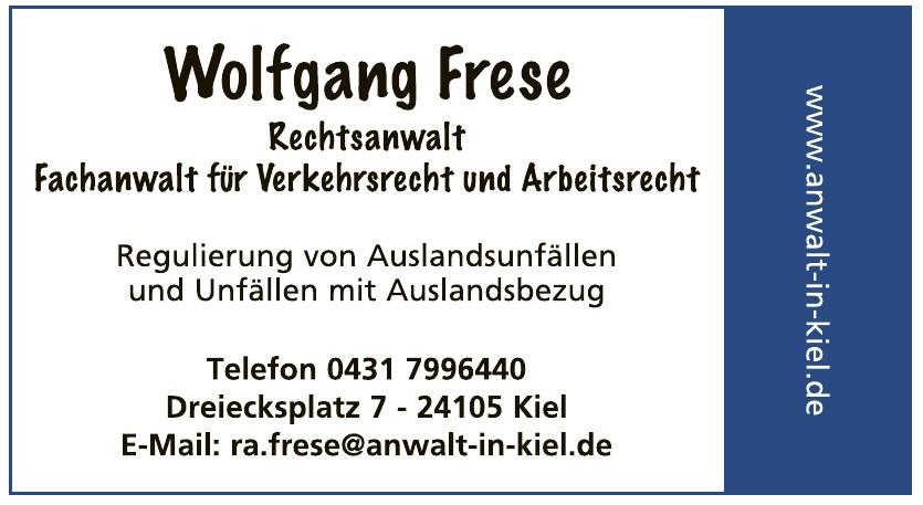 Wolfgang Frese